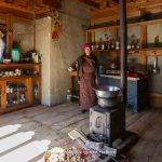 Bhutan, maison traditionnelle ©Marie-Ange Ostré