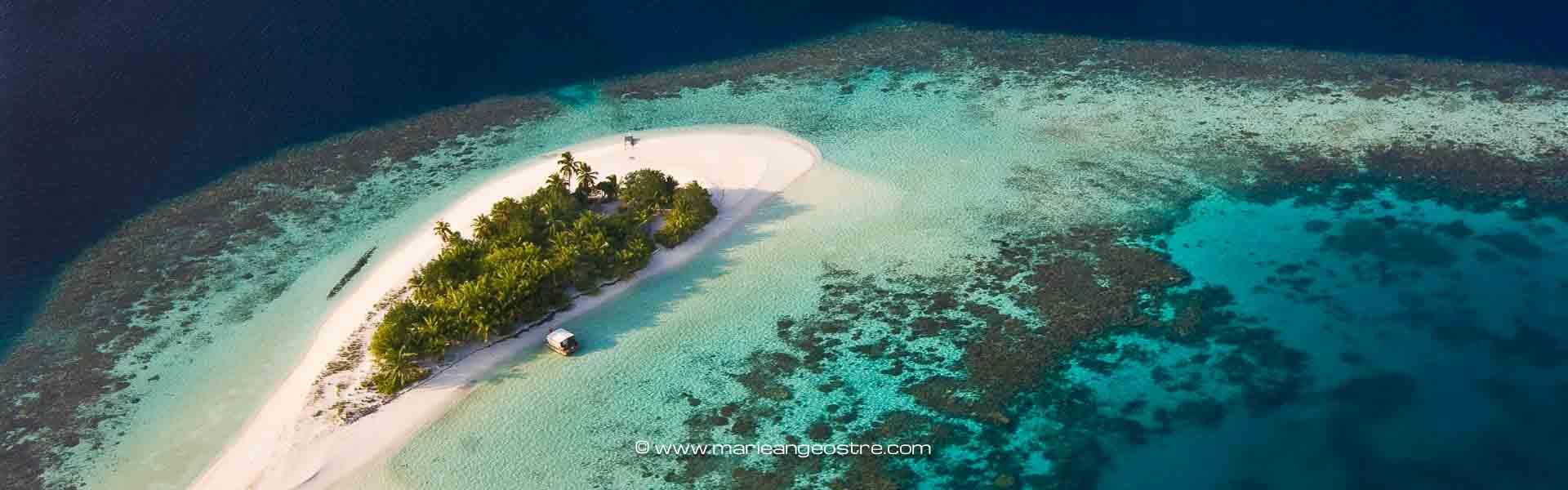 Maldives, atoll ©Marie-Ange Ostré