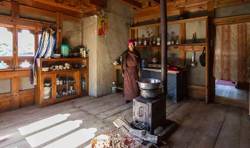 Bhoutan, maison traditionnelle ©Marie-Ange Ostré