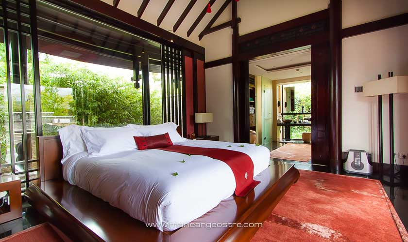 Chine, villa privée avec piscine au Banyan Tree à Lijiang © Marie-Ange Ostré