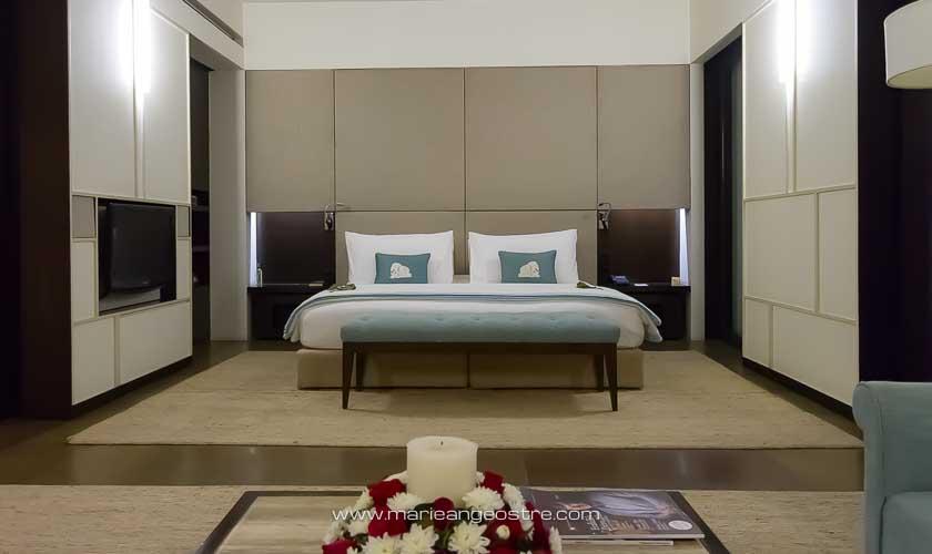 Inde, chambre de l'hôtel The Lodhi à New Delhi © Marie-Ange Ostré