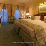 Oman, chambre de l'hôtel Ritz-Carlton Al Bhustan à Mascate © Marie-Ange Ostré