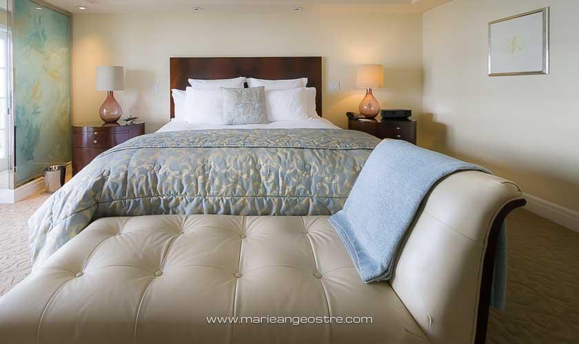 U.S.A., suite d'angle au Ritz-Carlton à Laguna Niguel, Californie © Marie-Ange Ostré