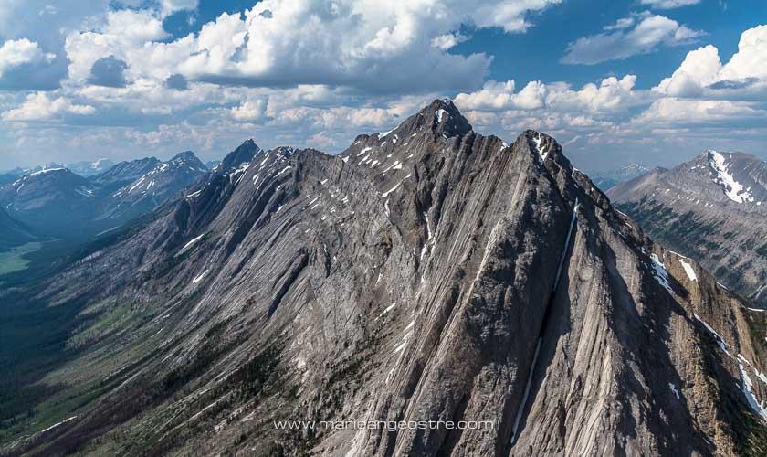 Canada, survol en hélicoptère des Montagnes Rocheuses © Marie-Ange Ostré