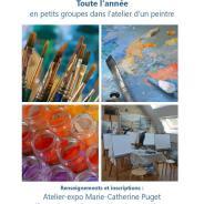 Ateliers de peinture pour enfants, ados, adultes toute l'année