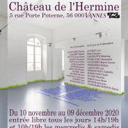 Du 10 au 22 novembre : Exposition au Château de l'Hermine à Vannes