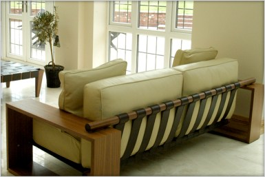 Designer Furniture : Porada, Panama 2 seater at Marie Charnley Interiors
