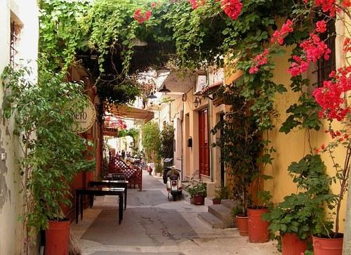 Side Street, Isle of Crete, Greece
