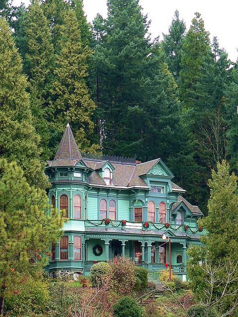 Victorian House, Eugene, Oregon