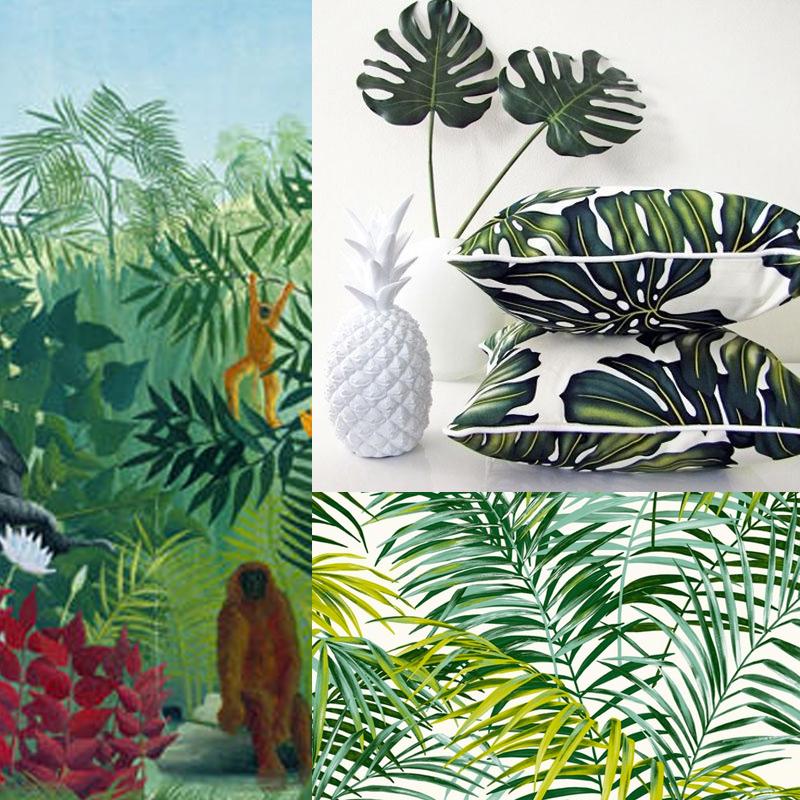 Jungle  on sinspire du Douanier Rousseau   Marie Claire