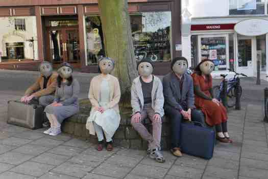 Norwich actor Marie Cooper with TheatreFragile at Norfolk and Norwich Festival