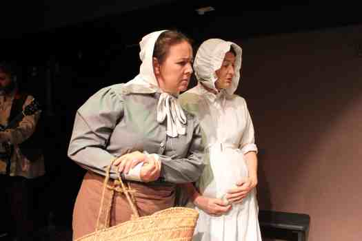 Mrs Beamish and Mrs Andrews in Lark Rise