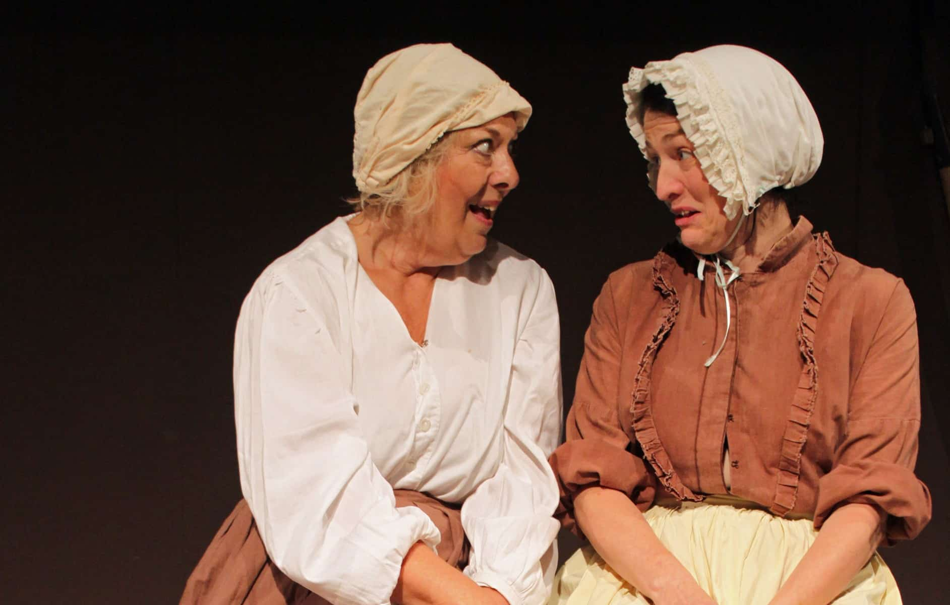 Mrs Blaby and Mrs Peverill in Larkrise