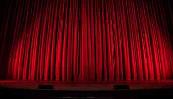 Image of theatre curtains