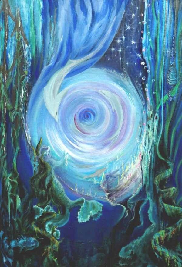 Fluxion Water Marie Delaney Painter Of Flow Energy