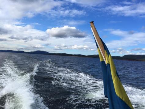 Båt från Ulvön