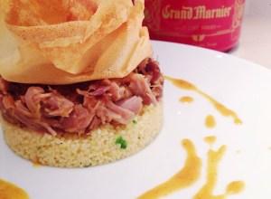 Croustillant de canard // grand Marnier