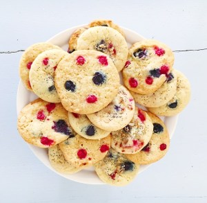 Cookies myrtilles & groseilles