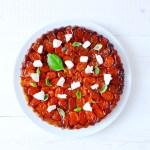 Tatin de tomates cerises