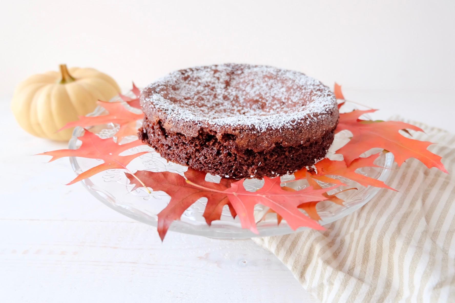 Gâteau au chocolat d'Automne (Vegan)