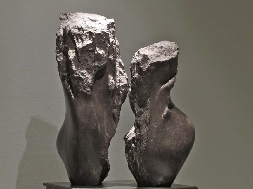 No 65 L'entre-deux (1981). Photo: Rodolphe Caron. h = 73 cm et 61 cm