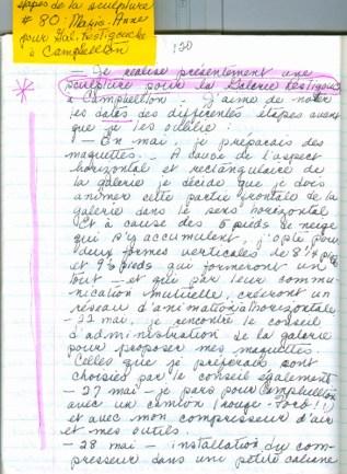 Cahiers de Marie Hélène