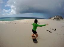 Sandboarding En Las Dunas De San Nicol