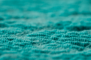 Soft is a sound absorbing felted pattern knitted wool and cotton fabric. Photo: Henrik Bengtsson (Imaginaria).