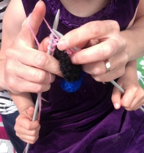 Co-knitting