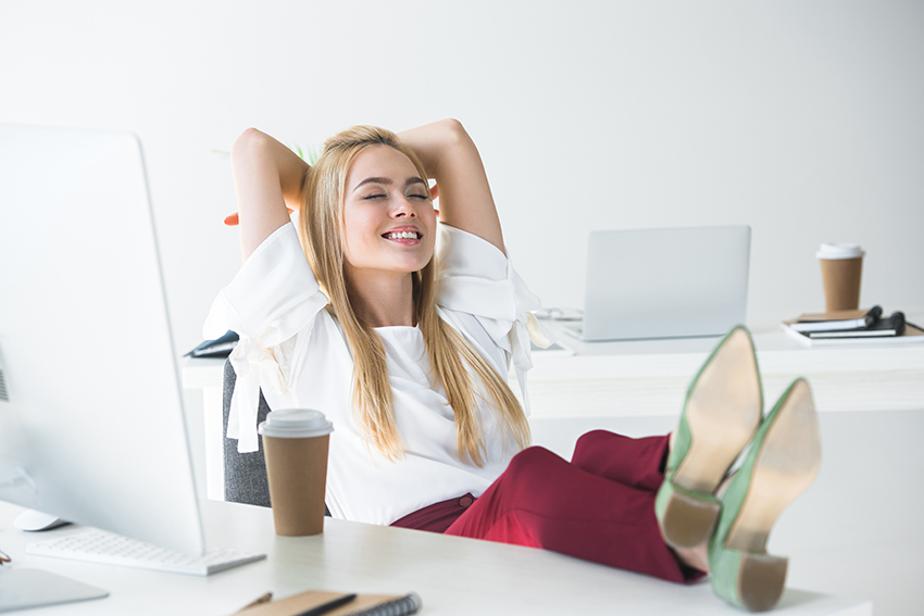 Learn to manage priorities so you can relax