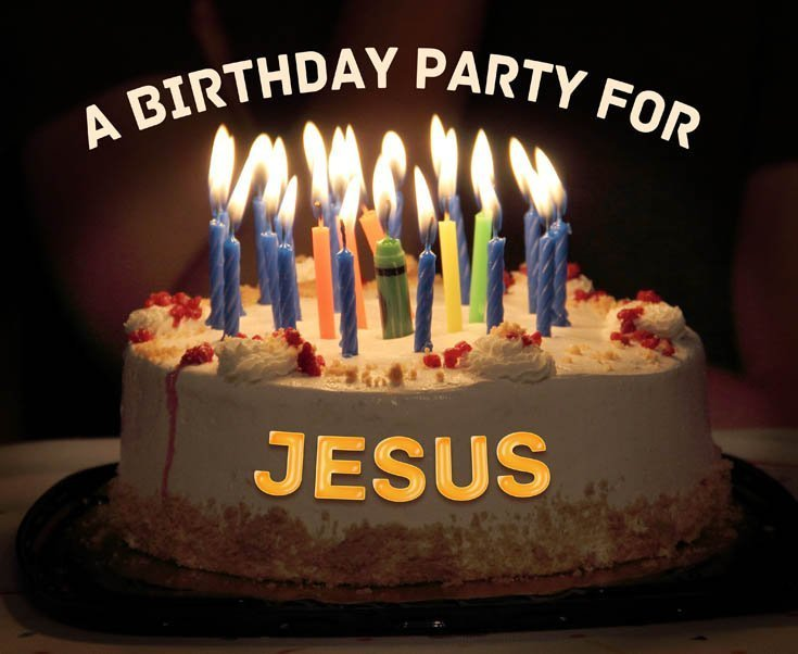 A Birthday Party for Jesus #sharethegift