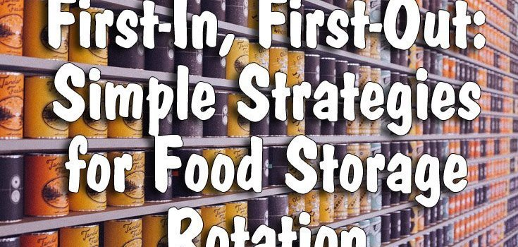 First-In, First-Out: Simple Strategies for Food Storage Rotation