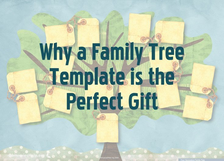 Why a Family Tree Template is the Perfect Gift