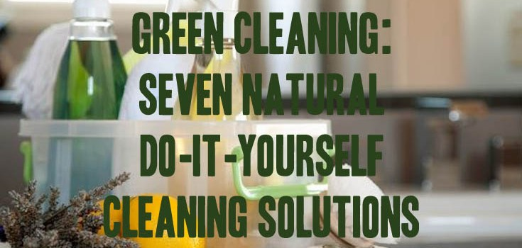 Green Cleaning: Seven Natural Do-It-Yourself Cleaning Solutions