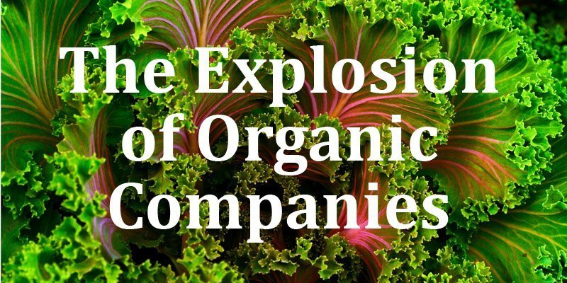 The Explosion of Organic Companies