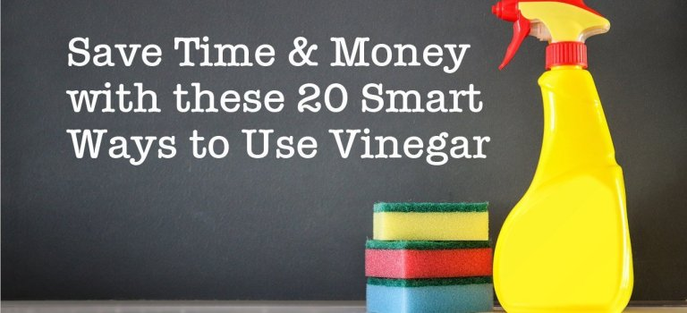 Save Time & Money with these 20 Smart Ways to Use Vinegar