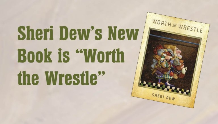 "Sheri Dew's New Book is ""Worth the Wrestle"""