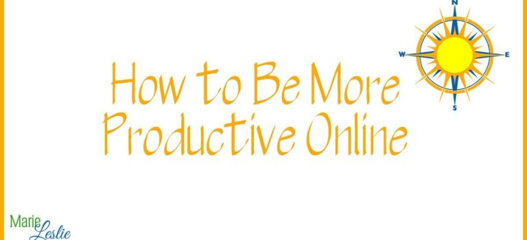 How to Be More Productive Online