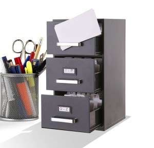 business card cabinet