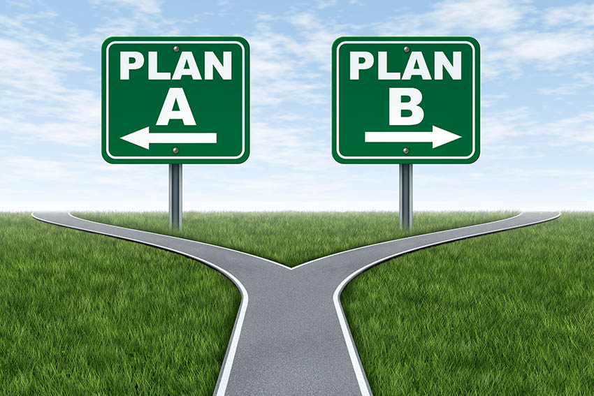 Will You Follow Your Plan A or Plan B