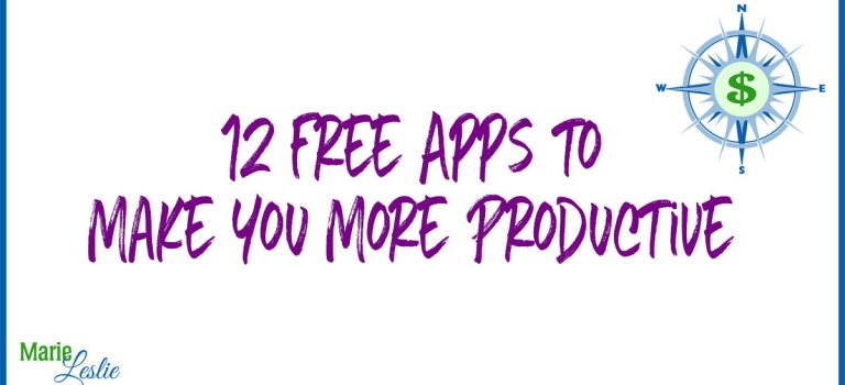 12 Free Apps to Make You More Productive