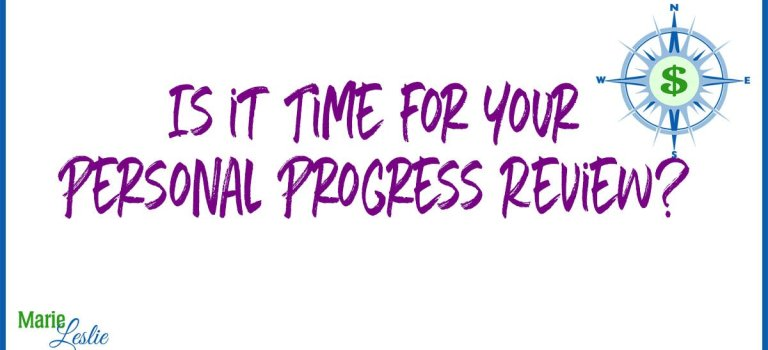 Is it Time for Your Personal Progress Review?