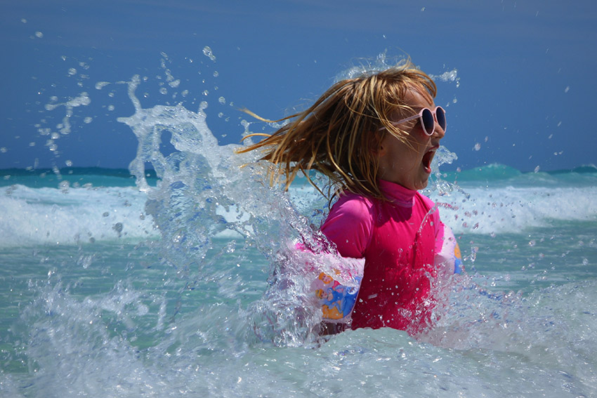 Water safety is important whether you're at the beach or a pool