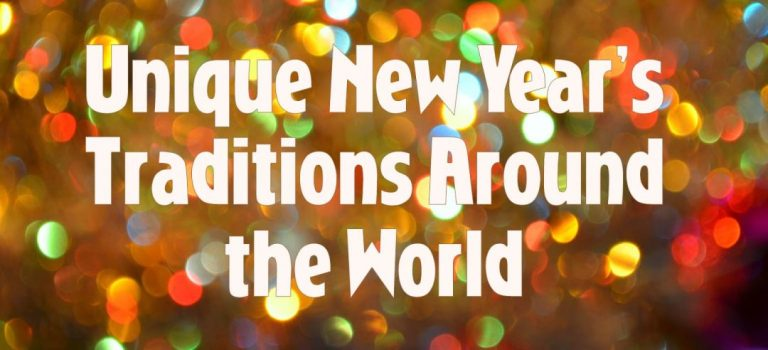 Unique New Year's Traditions Around the World