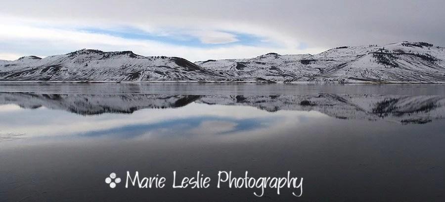 Wintry Reflections, Blue Mesa Reservoir, Gunnison, Colorado