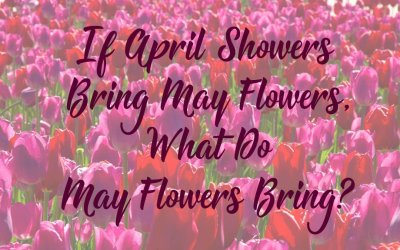 If April Showers Bring May Flowers, What Do May Flowers Bring?