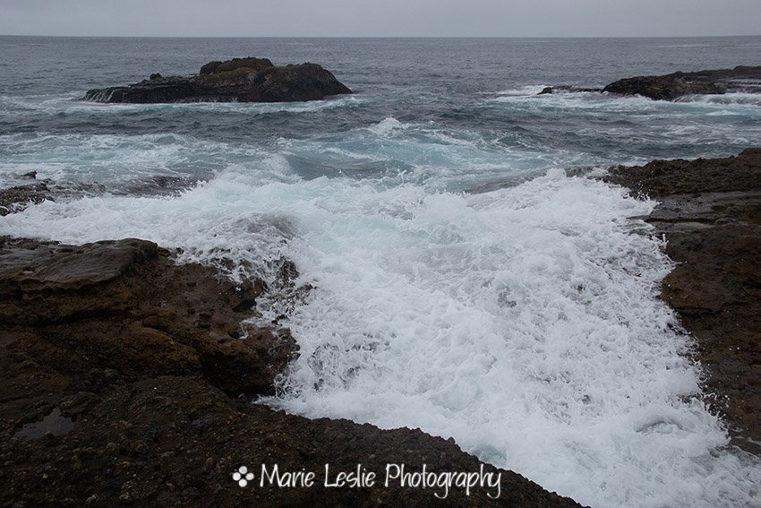Incoming Tide at Point Lobos