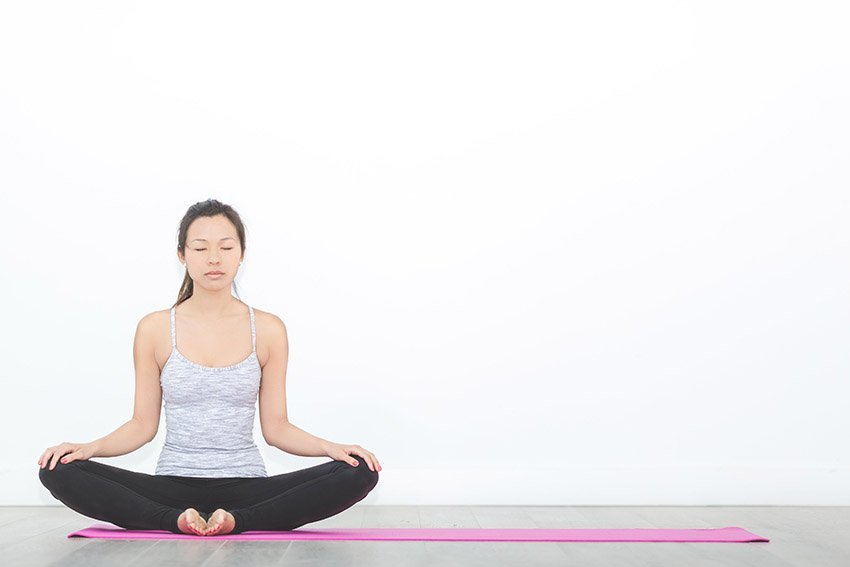 care for yourself with yoga