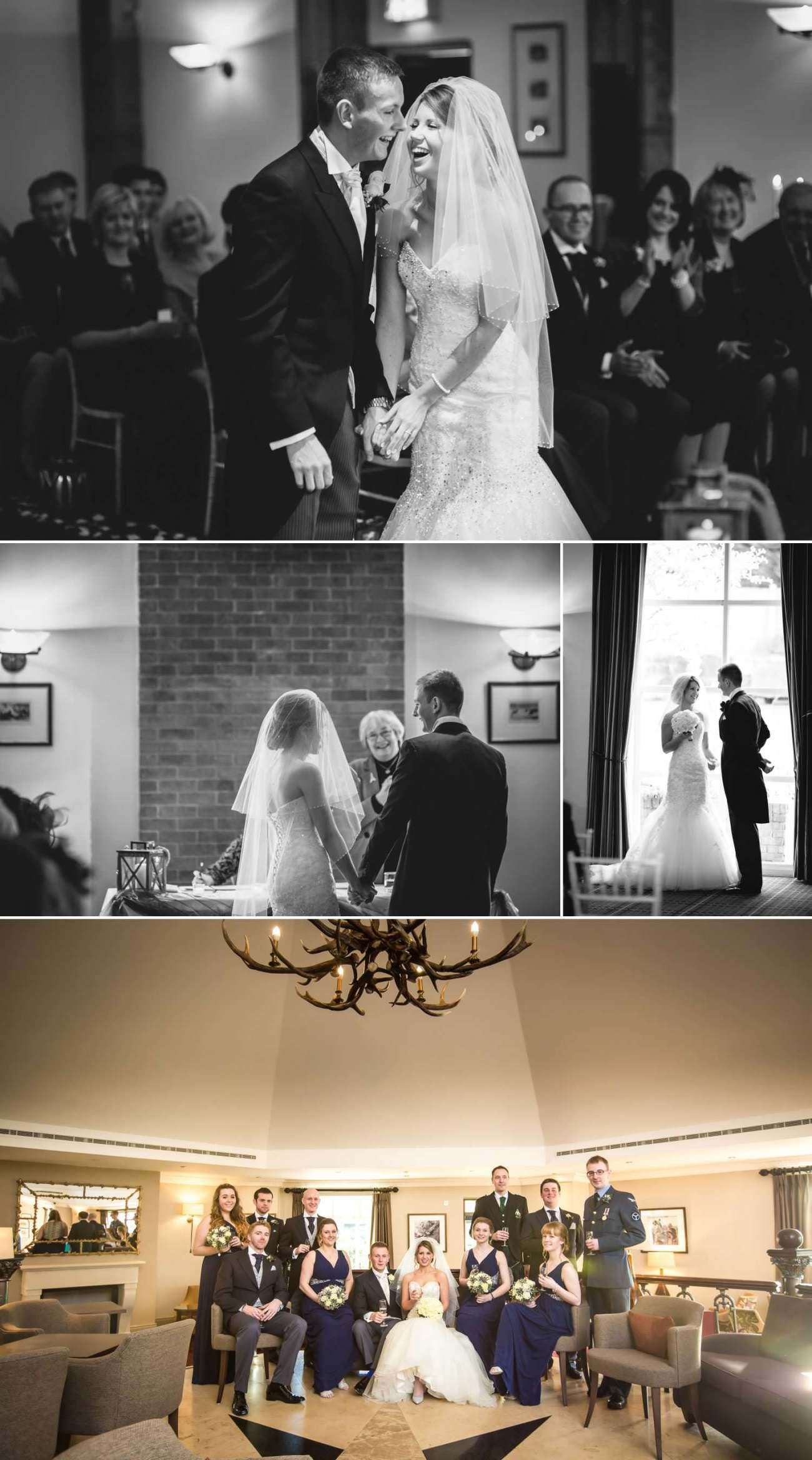 Wedding Photography of the celebrations at Carden Park Hotel, Chester, Cheshire