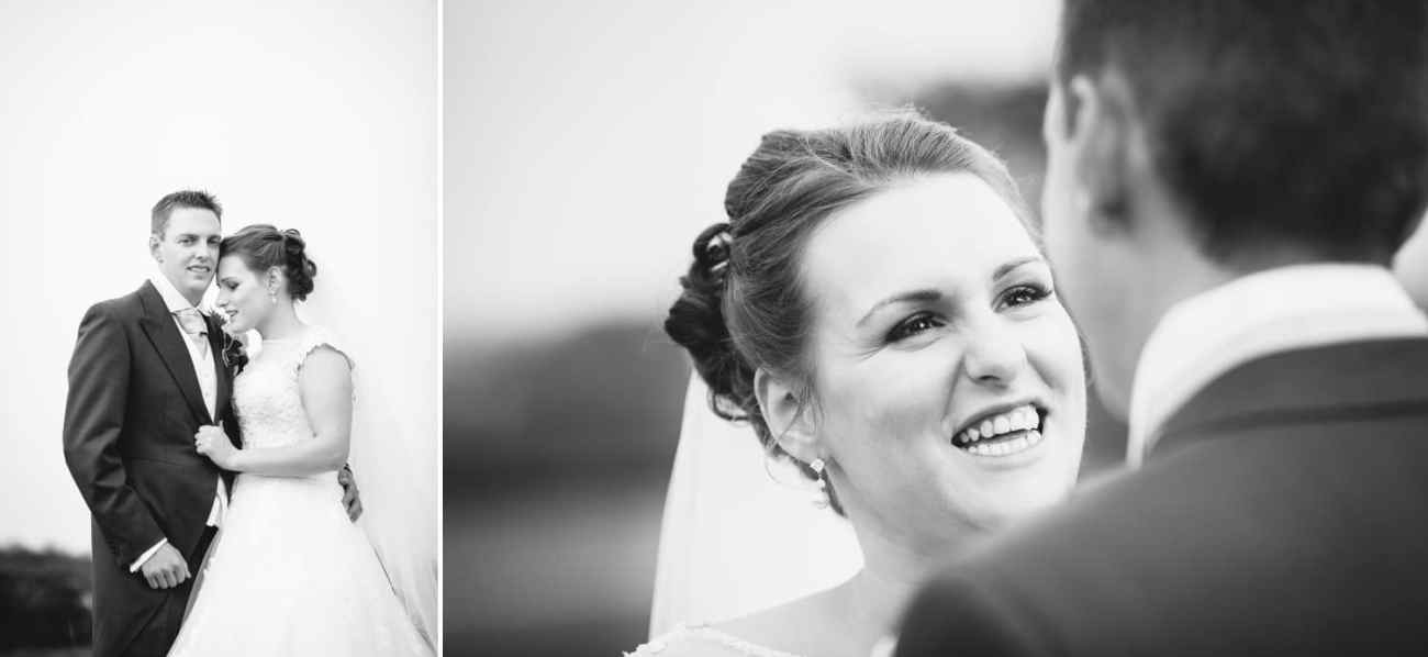 Wedding Photography Wales, black and white portraits